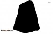 Mountain Icon Silhouette Free Vector Art