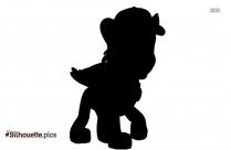 Paw Patrol Dog Silhouette Image