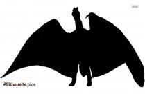 Minilla Kaiju Silhouette Image
