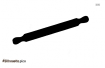 Rolling Pin Clipart Black And White