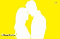 Romantic Couple Clip Art Image