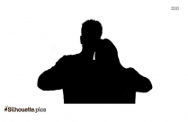Love Silhouette Vector And Graphics
