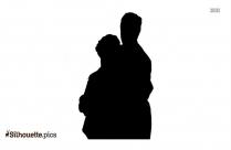 Romantic Couple Silhouette Image