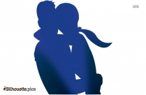Romantic Couple Silhouette Vector And Graphics