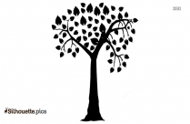 Cedar Tree Drawing Silhouette Clipart