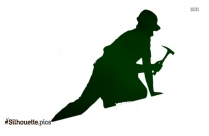 Roof Repair Silhouette Image And Vector