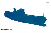 Roro Boat Silhouette Clipart