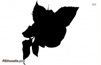 Rose Silhouette Vector Graphics