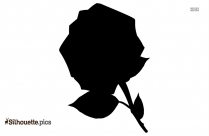 Bouquet Rose Silhouette