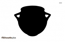English Pottery Silhouette Illustration