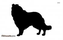 Chihuahua Dog Sitting Silhouette