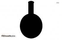 Round Bottom Flask Silhouette Image And Vector