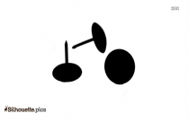 Push Pin Silhouette Clipart