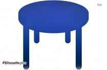 Spa Table Silhouette