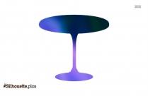 Furniture Desk Silhouette