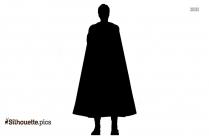 Charlie Chaplin Silhouette Illustration