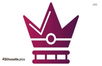 Royal Crown Logo Silhouette For Download