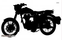 Royal Enfield Bike Silhouette