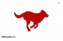 Dog Silhouette Clip Art Simple