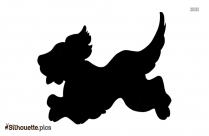 Dog Puppy Silhouette Drawing Free Download