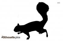 Squirrel Silhouette Svg