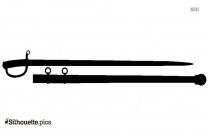 Aztec Sword Silhouette