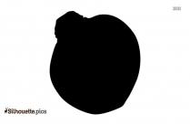 Black Rutabaga Silhouette Image
