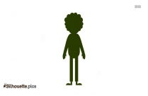 Sad Man Cartoon Silhouette Vector And Graphics