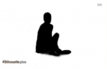 Business Couple Sitting Silhouette