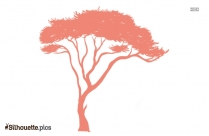 Safari Tree Silhouette Background