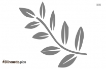 Leaves Silhouette Image And Vector