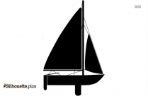 Speed Boat Silhouette Clipart