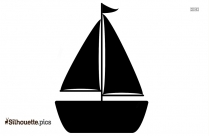 Sailboat Silhouette Drawing
