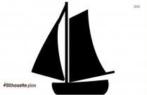 Pirate Boat Clip Art Silhouette
