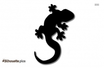 Salamander Silhouette Image And Vector