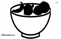 Cartoon Taco Silhouette Picture