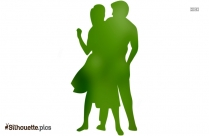 Salsa Dancer Silhouette Image And Vector