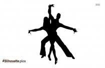 Salsa Dancers Best Silhouette