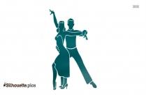 Beautiful Dancing Couple Clipart
