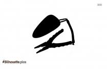 Corkscrew Silhouette Free Vector Art