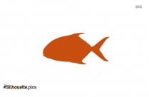 Saltwater Sports Fish Silhouette