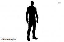 Sam Wilson Character Silhouette
