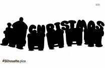Christmas Clipart Logo Silhouette For Download