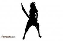 Sasuke Uchiha Silhouette