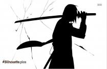 Sasuke Uchiha Silhouette Cartoon Image