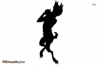 Mega Eevee Silhouette Illustration