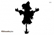 Cute Scarecrow Clipart Silhouette