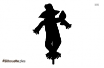 Scarecrow Silhouette Vector And Graphics
