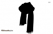 Scarf Silhouette Winter