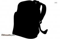 Backpack Clip Art Silhouette